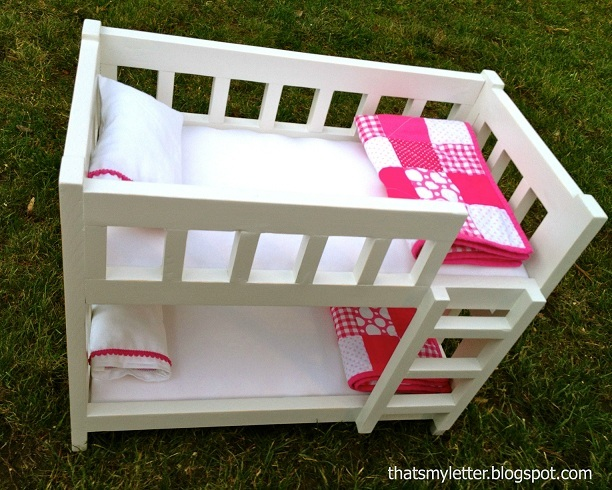 Camp Style Bunk Beds For American Girl Or 18 Dolls