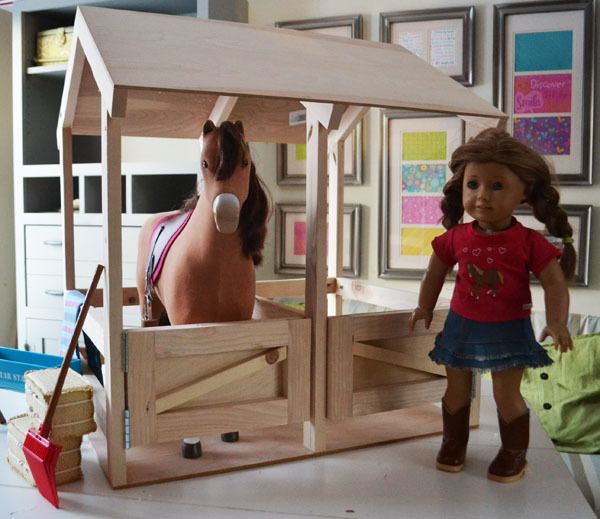 Horse Stables For American Girl Or 18 Dolls Ana White