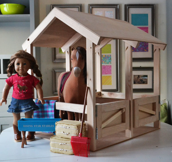 Ana White Horse Stables For American Girl Or 18 Dolls