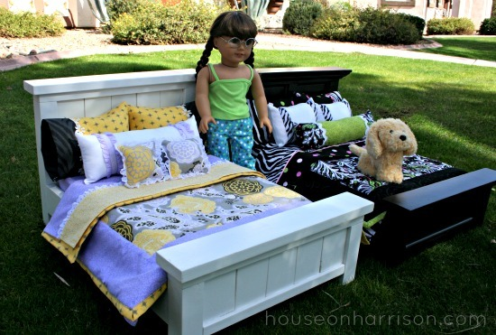 Ana white american girl doll beds diy projects american girl doll beds solutioingenieria Images