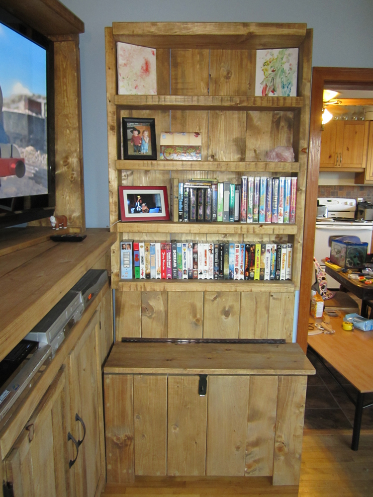 Ana White Toy Storage Entertainment Center Diy Projects