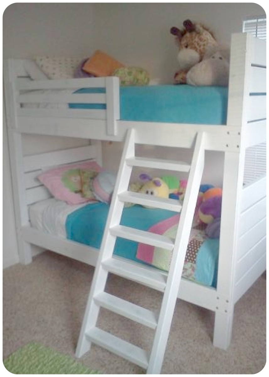 Ana White Side Street Bunk Beds Modified Ladder Diy Projects