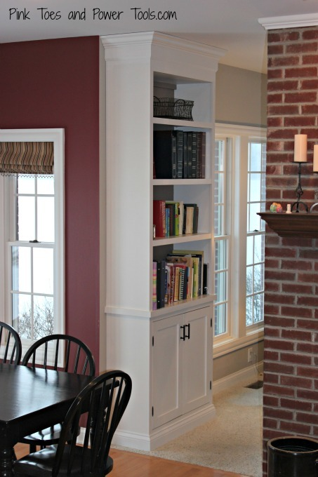 Ana White Built In Cabinet And Bookshelf Diy Projects