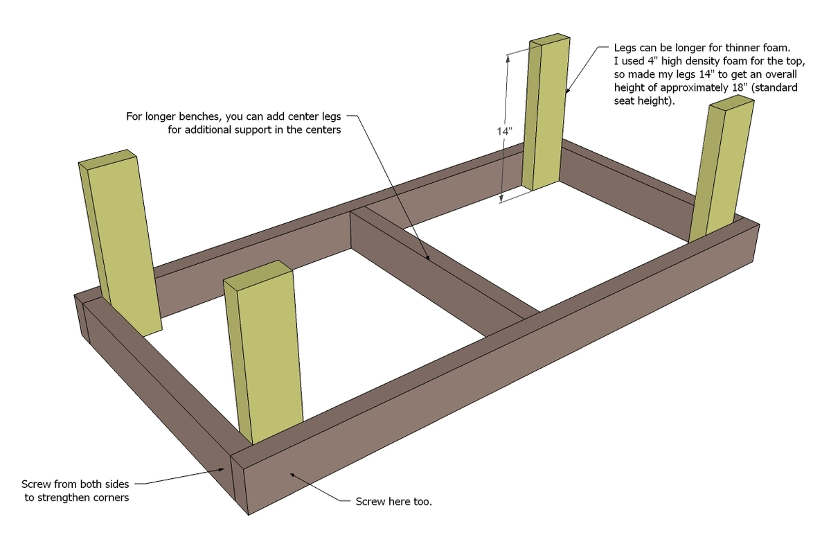 Sbr: Access 2x4 chair plans free