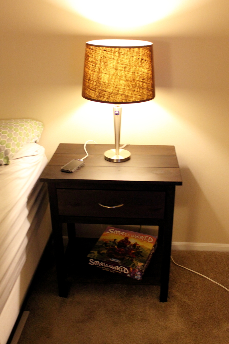 Ana White Matching Farmhouse Bedside Tables Diy Projects