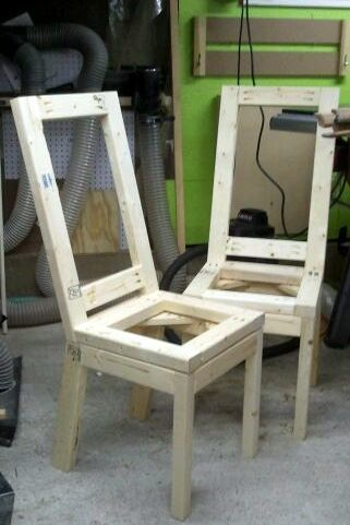 Excellent My Take On The Parson Chair Ana White Unemploymentrelief Wooden Chair Designs For Living Room Unemploymentrelieforg