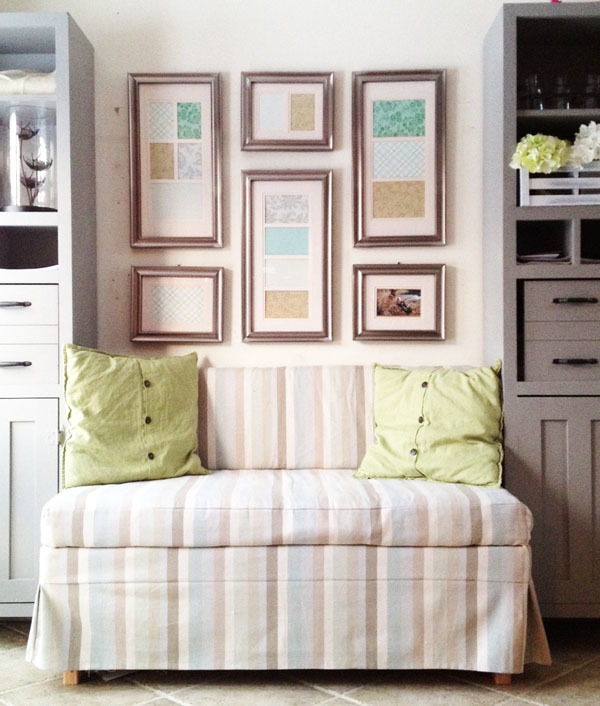 Diy Kitchen Banquette: 2x4 Upholstered Banquette Seat - DIY Projects