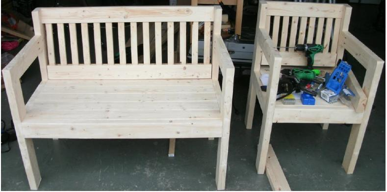 Ana White Simple Dock Bench And Chair Diy Projects