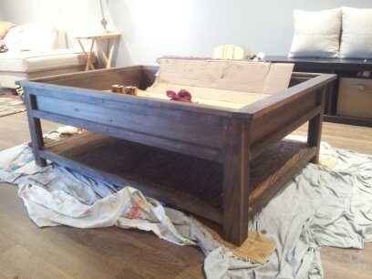 ana white | train table - diy projects