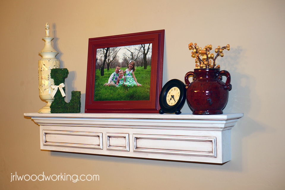 ana white | 4-foot mantel wall shelf - diy projects 4 Ft Wall Shelf