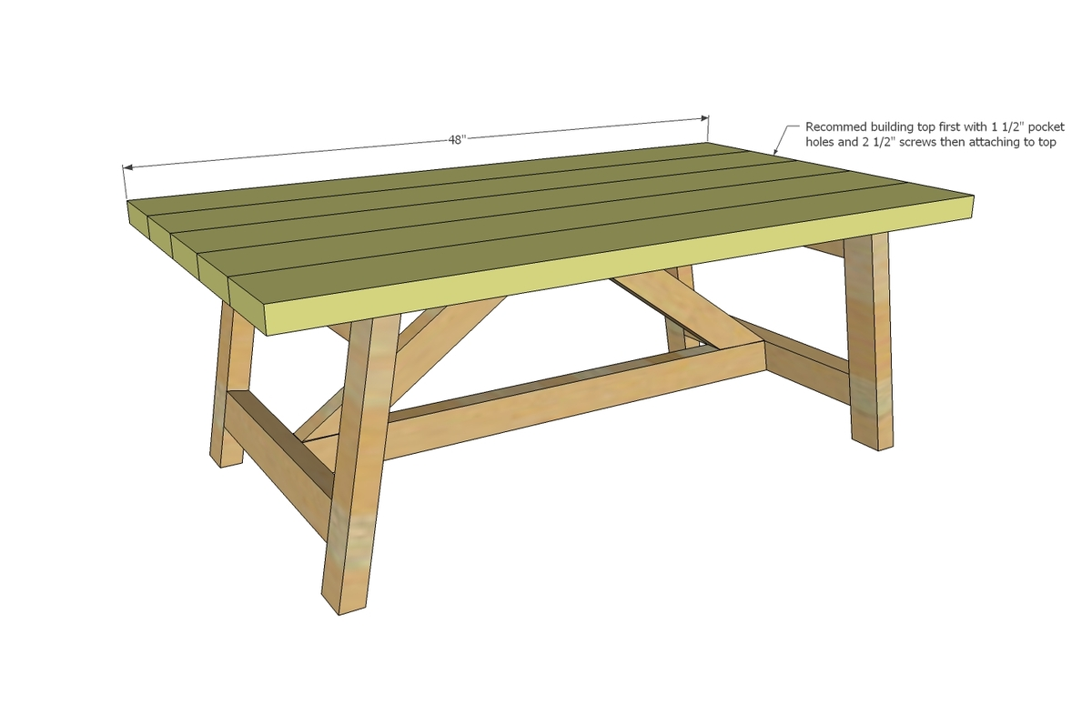 How to build a simple coffee table - How To Build A Simple Coffee Table 59