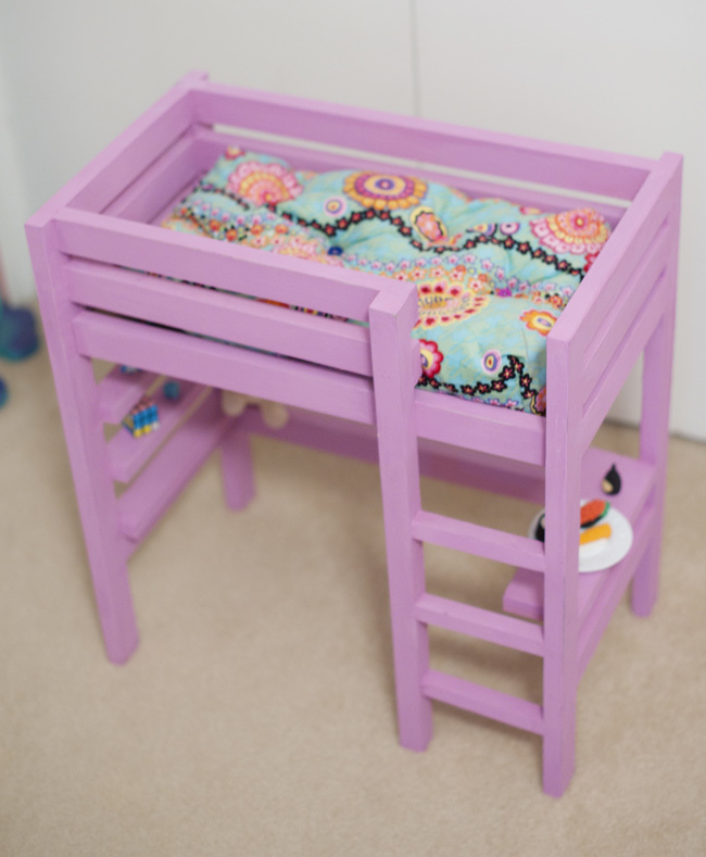 Doll Bunk Bed Plan With A Bit Of The Loft