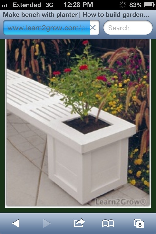 Outdoor Planter Bench Ana white planter bench diy projects planter bench workwithnaturefo