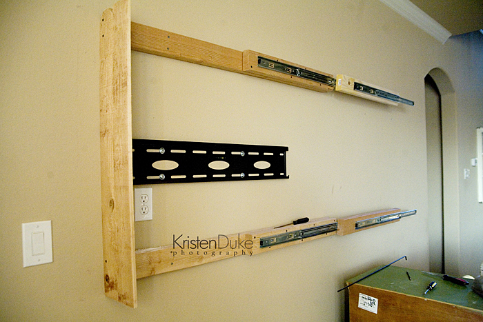 Ana White | Sliding Barn Door TV Cover from Kristen Duke - DIY ...