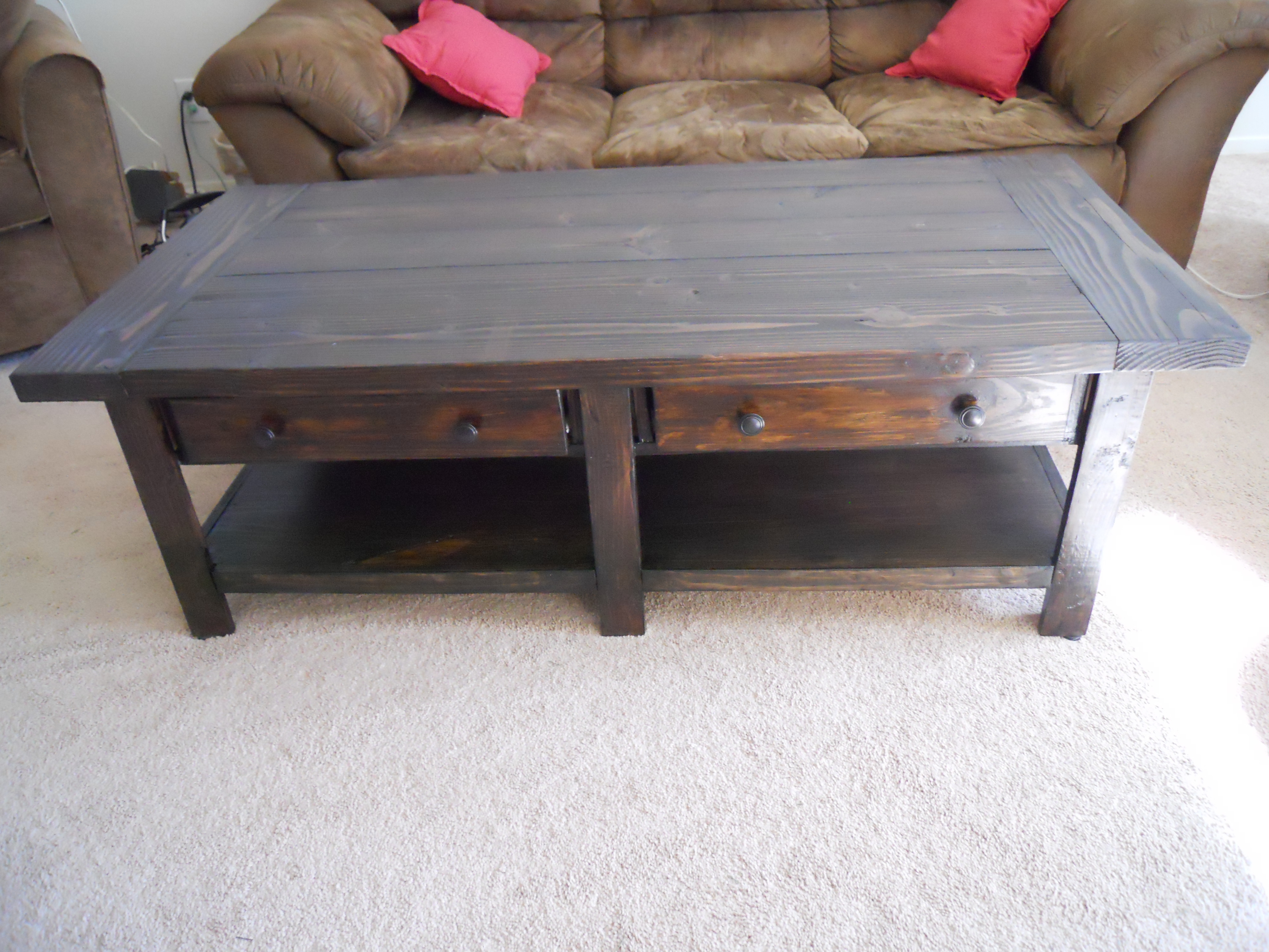 Pottery Barn Benchwright Coffee Table Build Ana White
