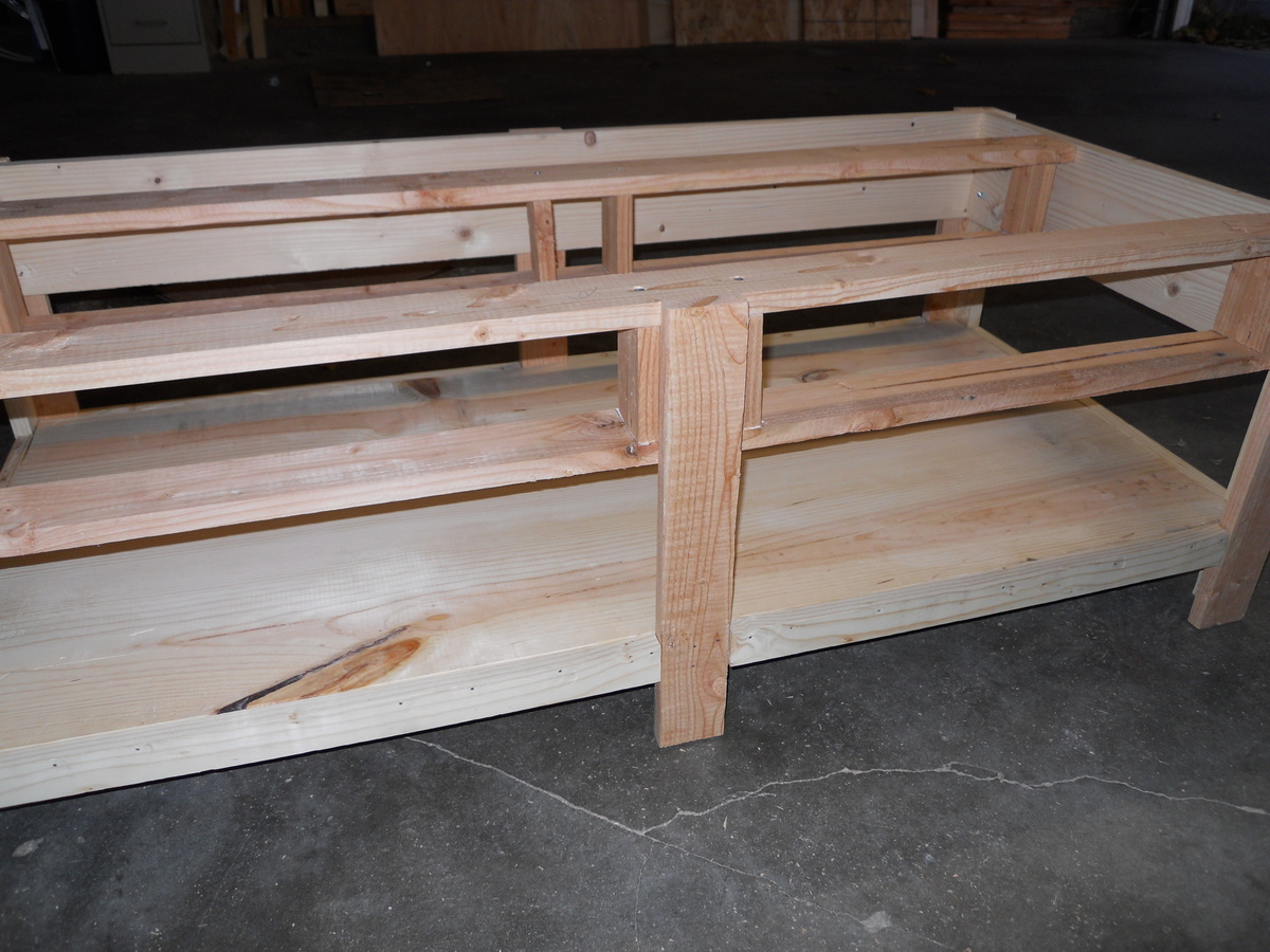 Ana white pottery barn benchwright coffee table build diy projects pottery barn benchwright coffee table build geotapseo Choice Image