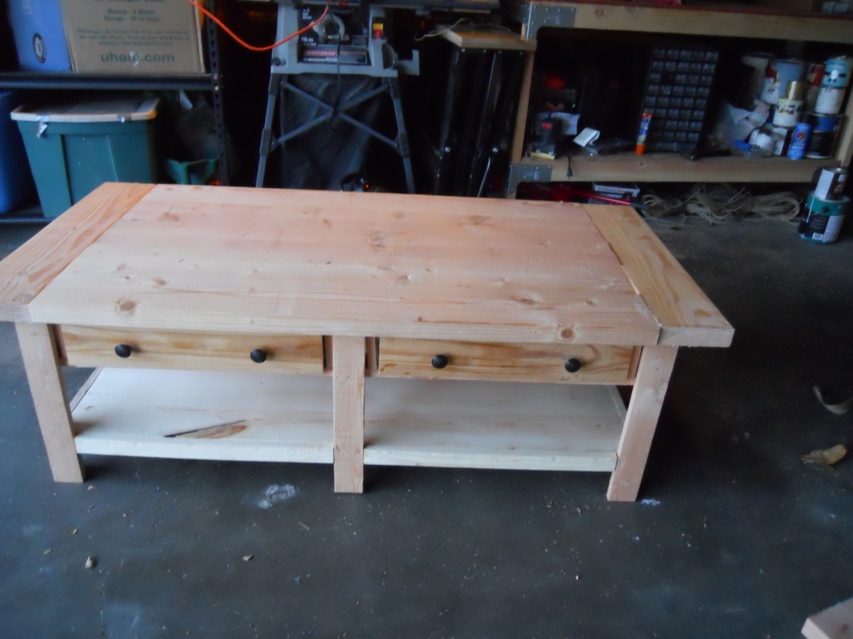 Pottery Barn Benchwright Coffee Table Build
