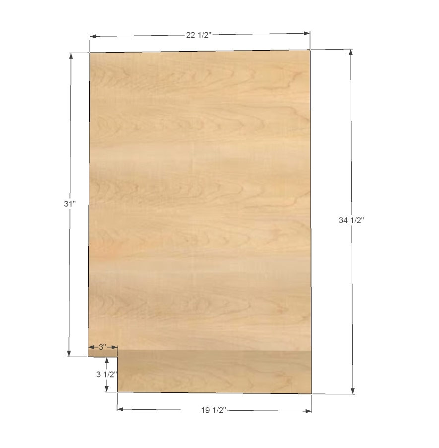 Diy Kitchen Cabinet Plans: Face Frame Base Kitchen Cabinet Carcass - DIY