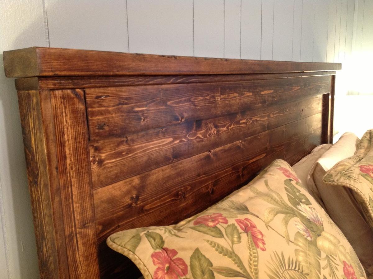 Reclaimed Wood Headboard Queen