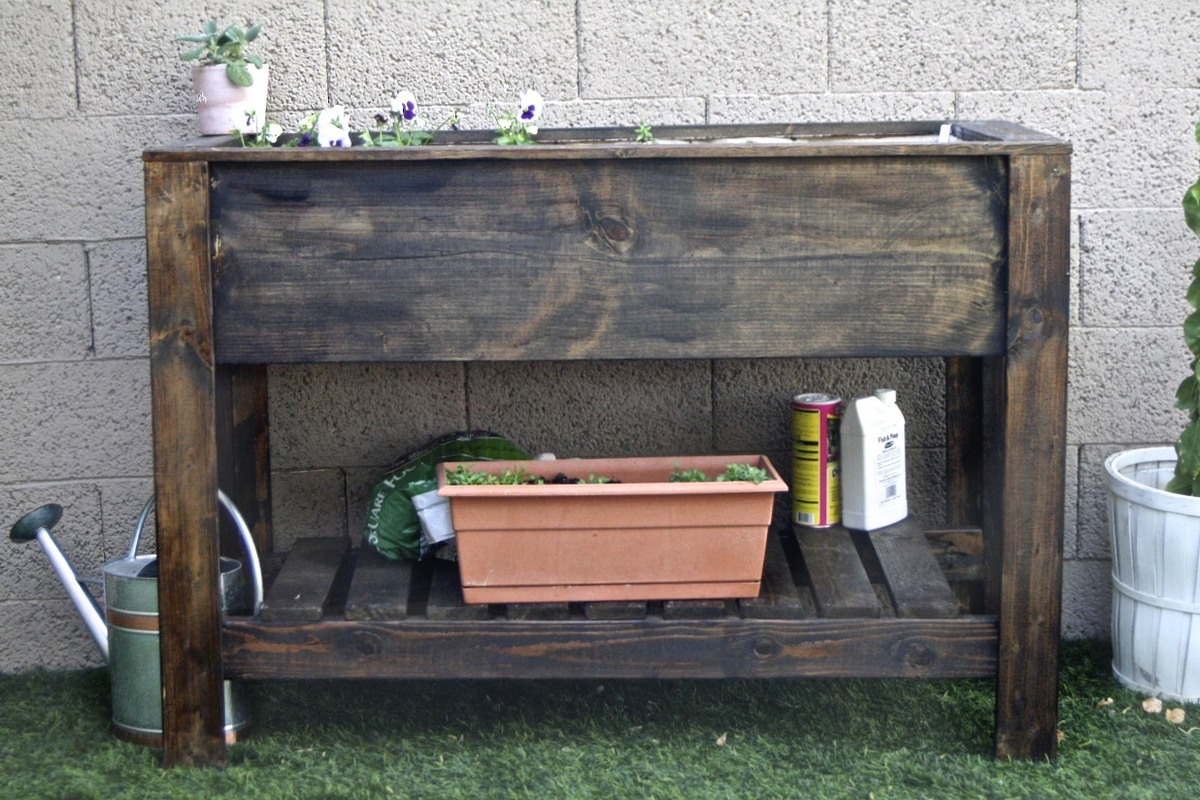 Raised Planter Boxes Diy Crafts