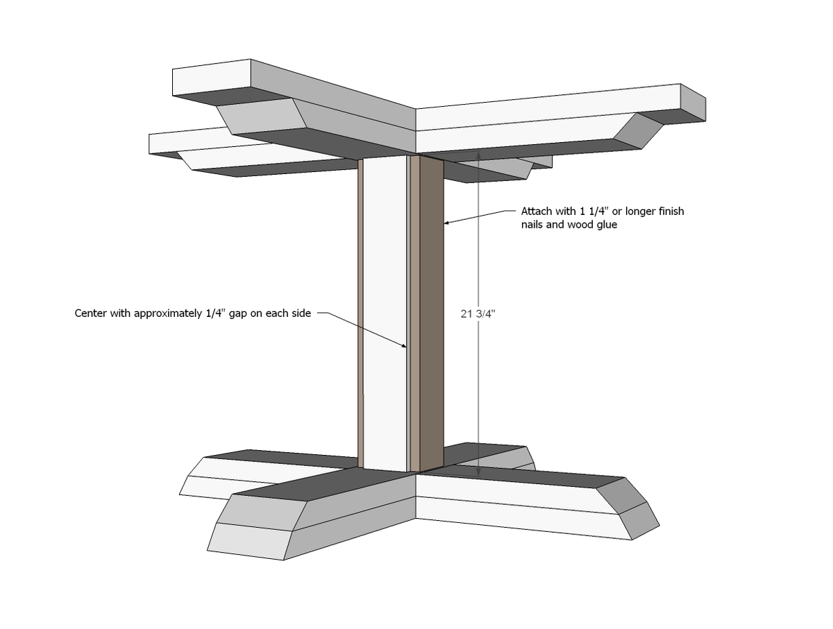 Square Pedestal Kitchen Table Ana White Square Pedestal Table Diy Projects