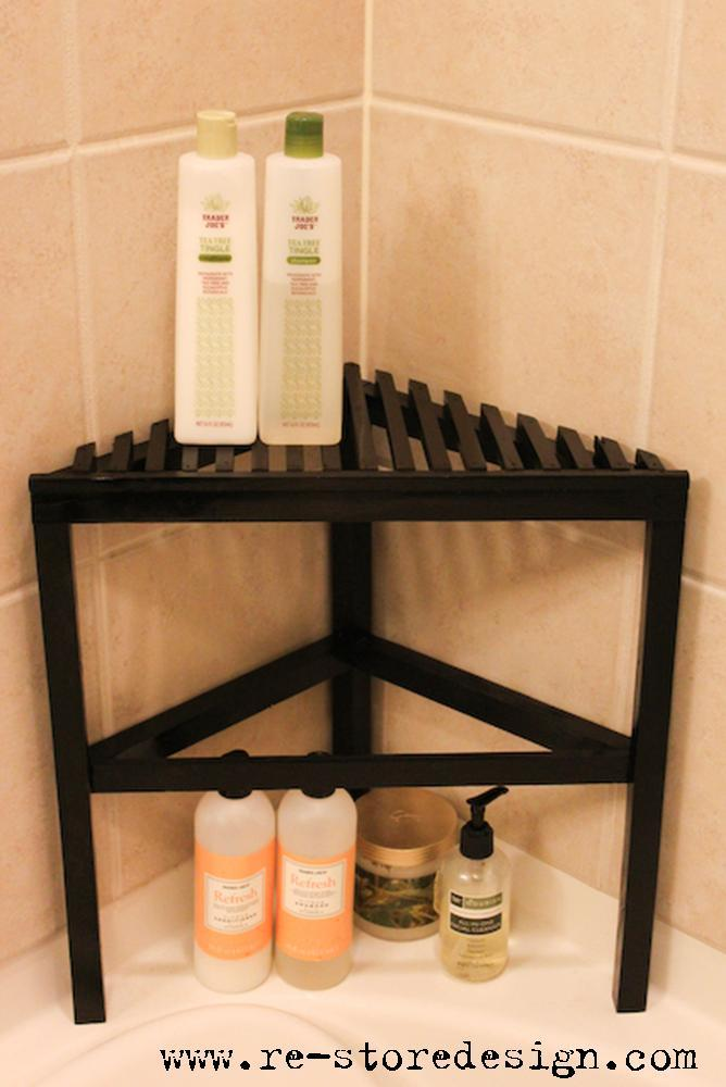 Ana White | 2×4 Scrap Wood ~ Shower Organizer - DIY Projects