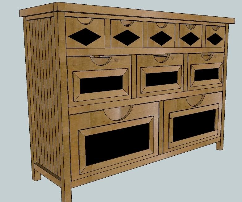 Rustic Storage Or The 1x2 Dresser