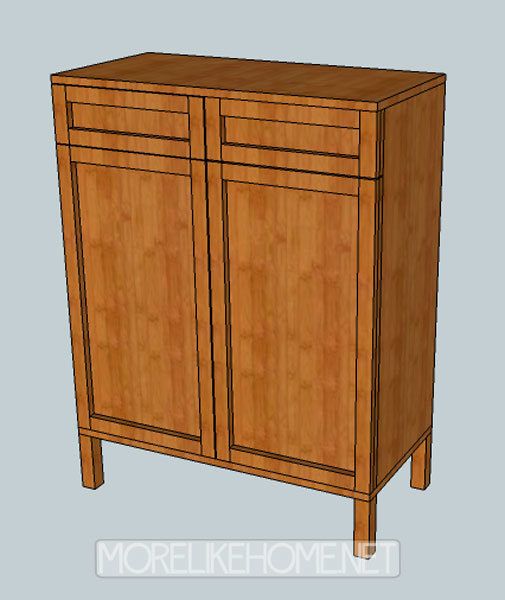 Ana White Solo Cabinet DIY Projects