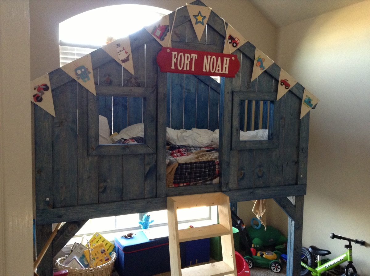 Do It Yourself Clubhouse : Ana white clubhouse bed diy projects