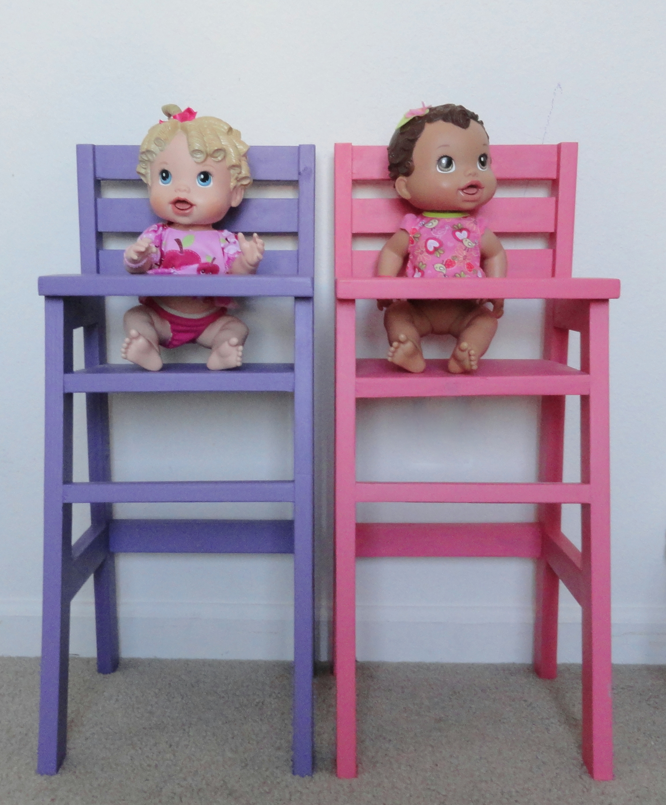 homemade doll furniture. Doll High Chairs Homemade Furniture