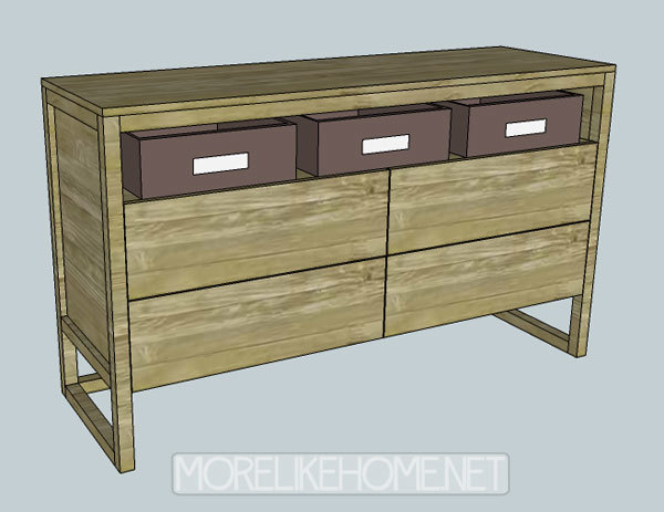 Finea 4 Drawer Dresser