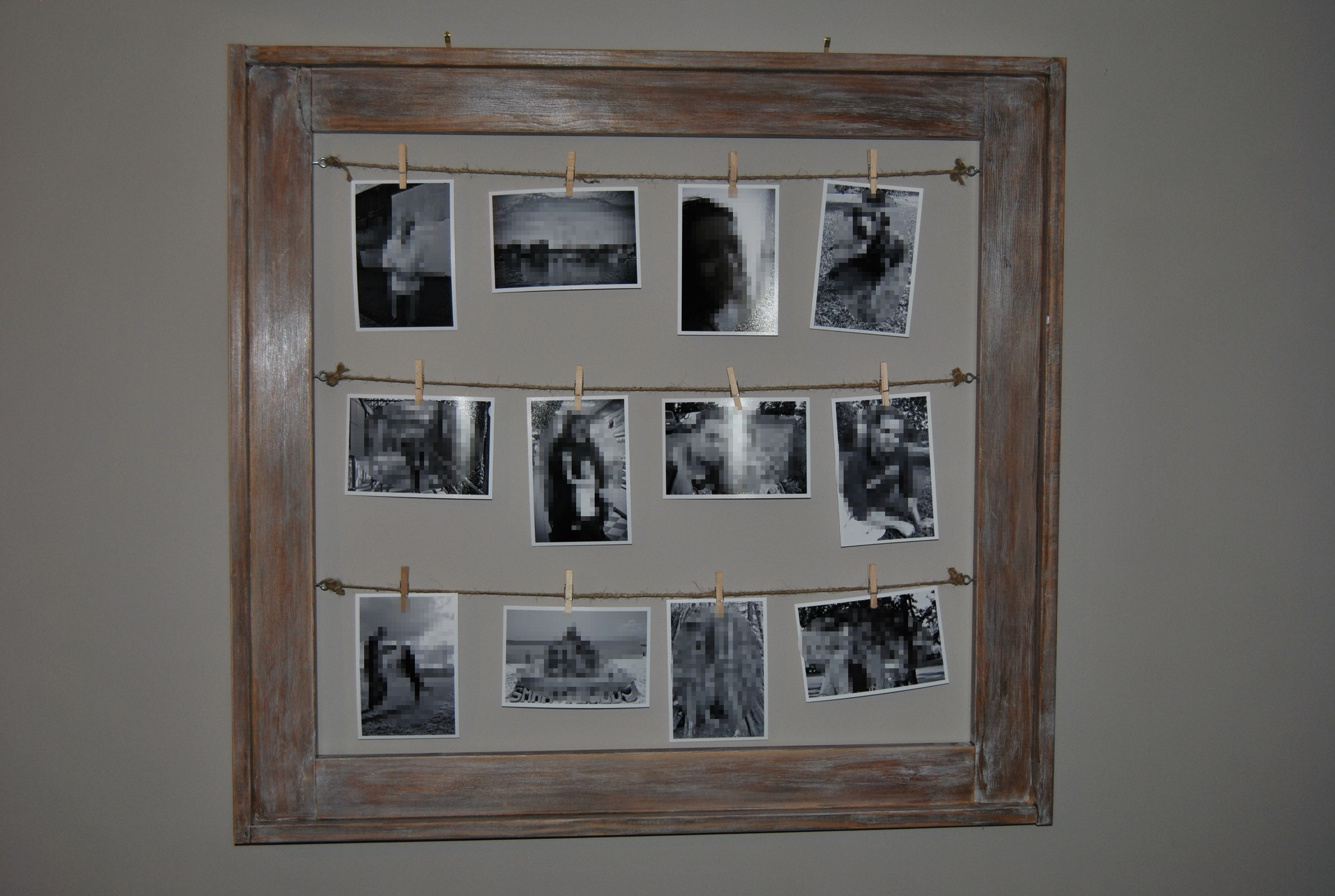 Ana White Clothes Line Picture Frame Diy Projects
