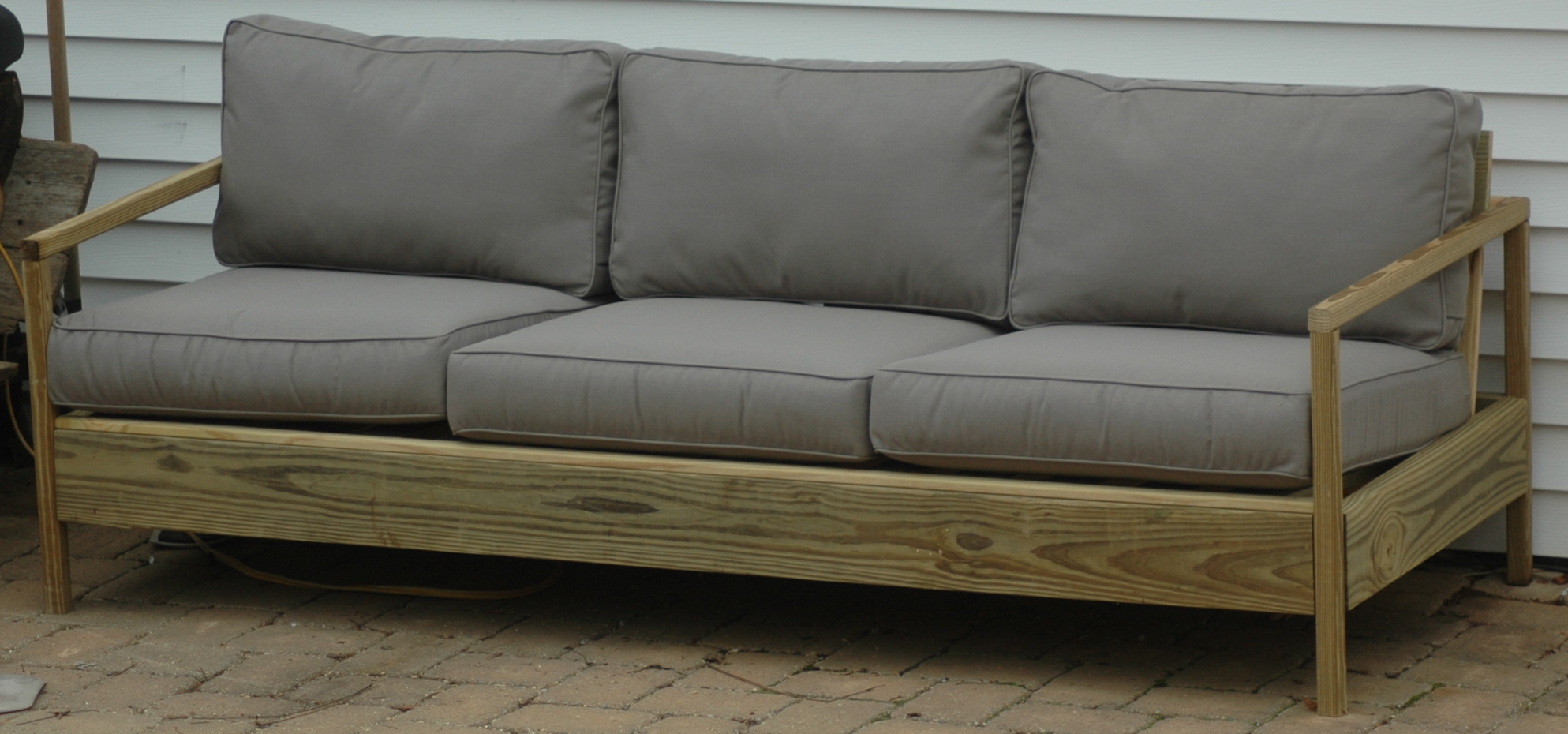 Diy outdoor sofa - Diy Outdoor Sofa