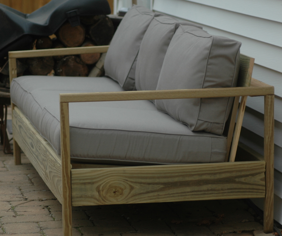 Diy outdoor sofa - 84 Patio Sofa
