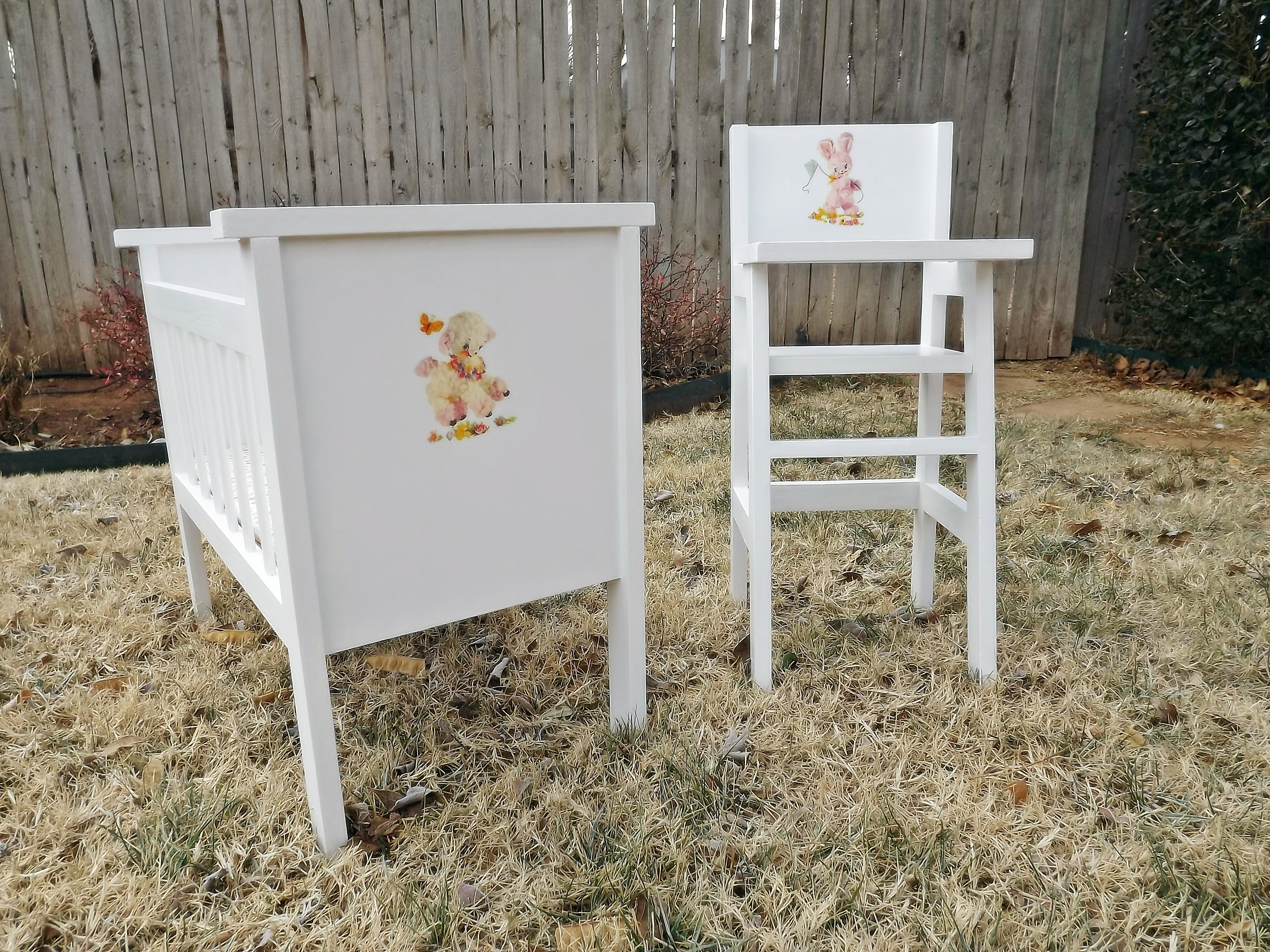 Superior Fancy Baby Doll Crib And High Chair