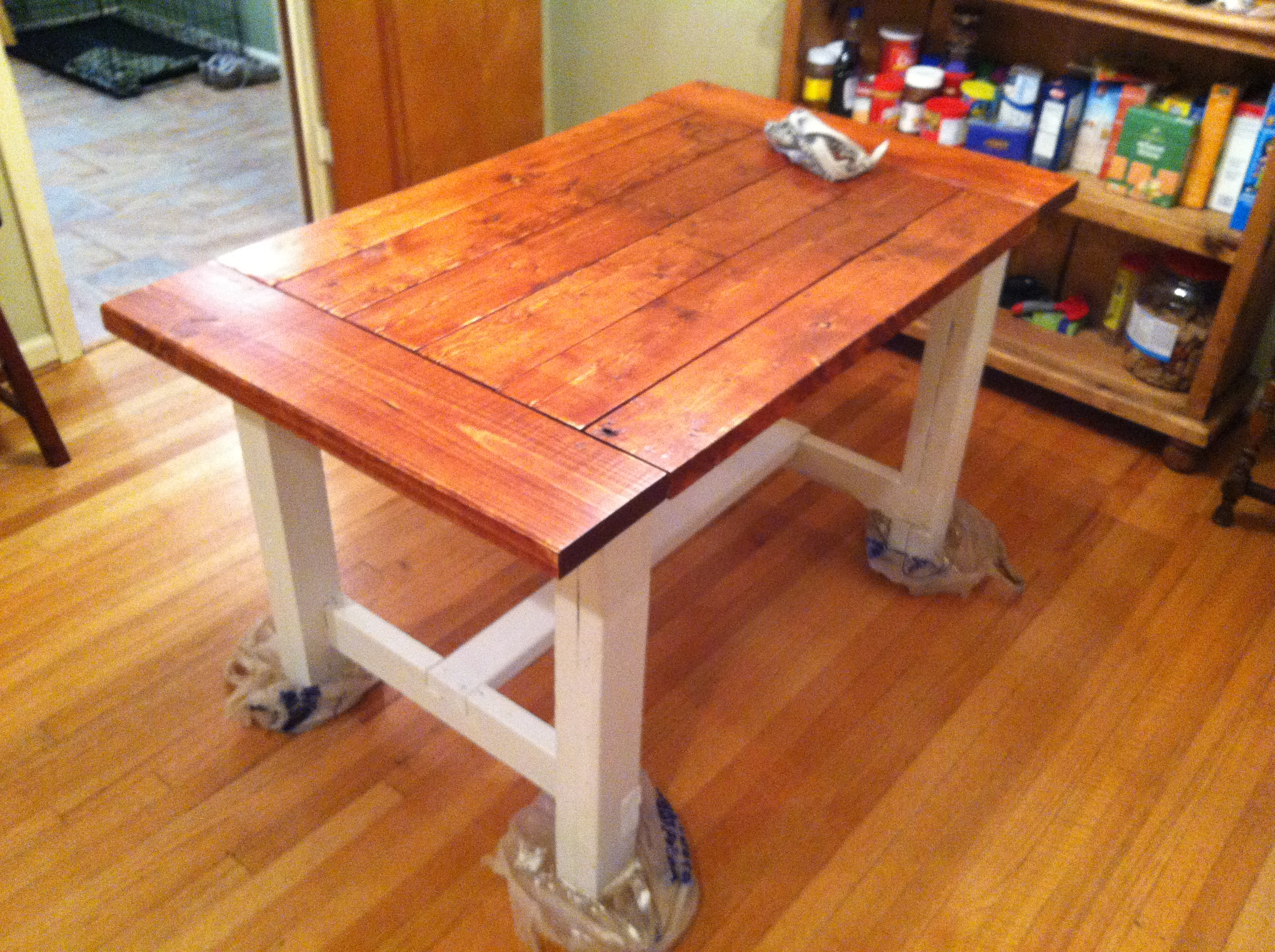 Dining Table Free Table Bench Plans