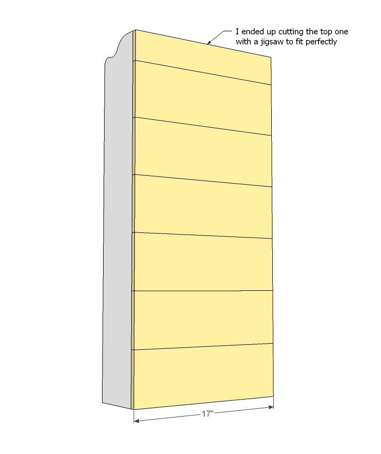 $10 Cedar Cubby Shelf | Ana White