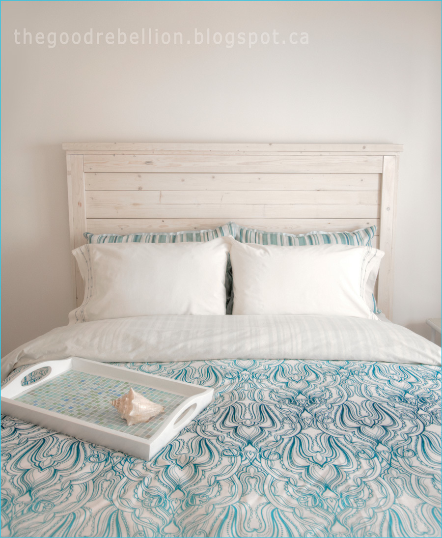 Ana White White Washed Queen Headboard Diy Projects
