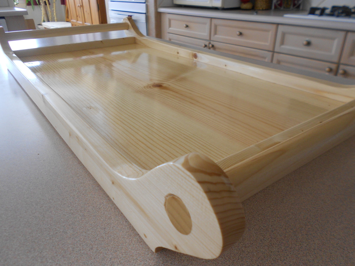 Creative Routedinlay Serving Tray Woodworking Plan From WOOD Magazine