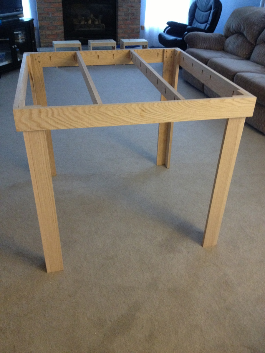 Ana White Counter Height Pub Table Diy Projects