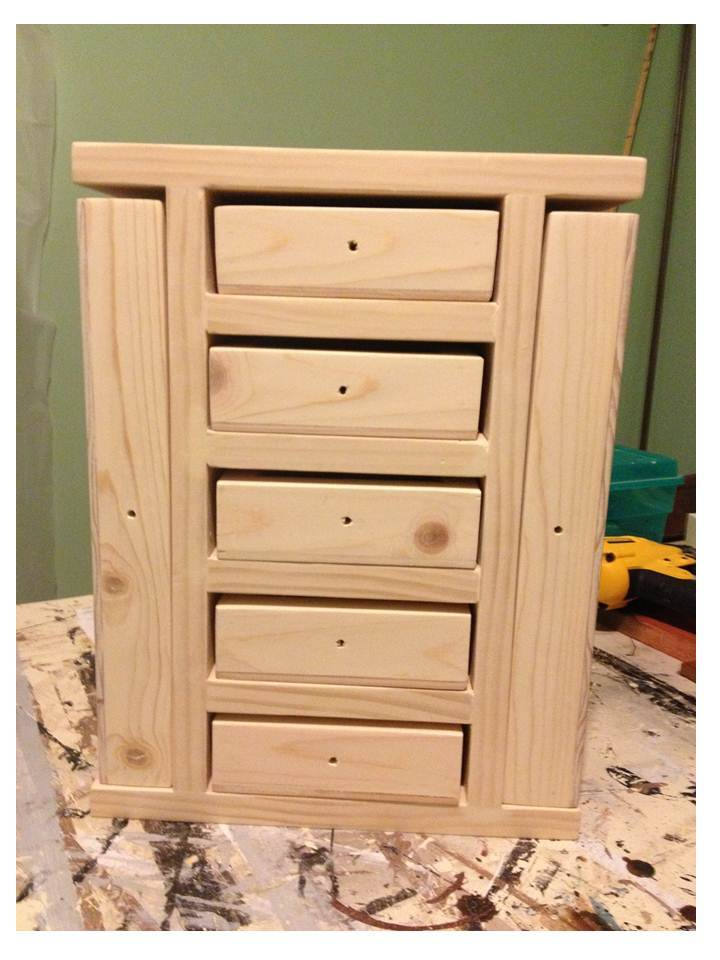 Ana White Fancy Jewelry Box Diy Projects
