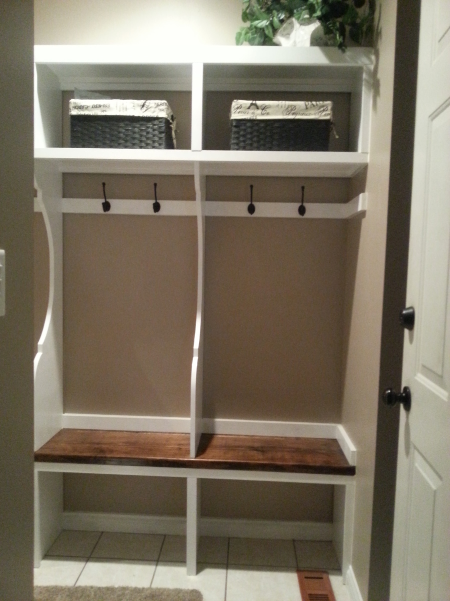 Mudroom Locker System