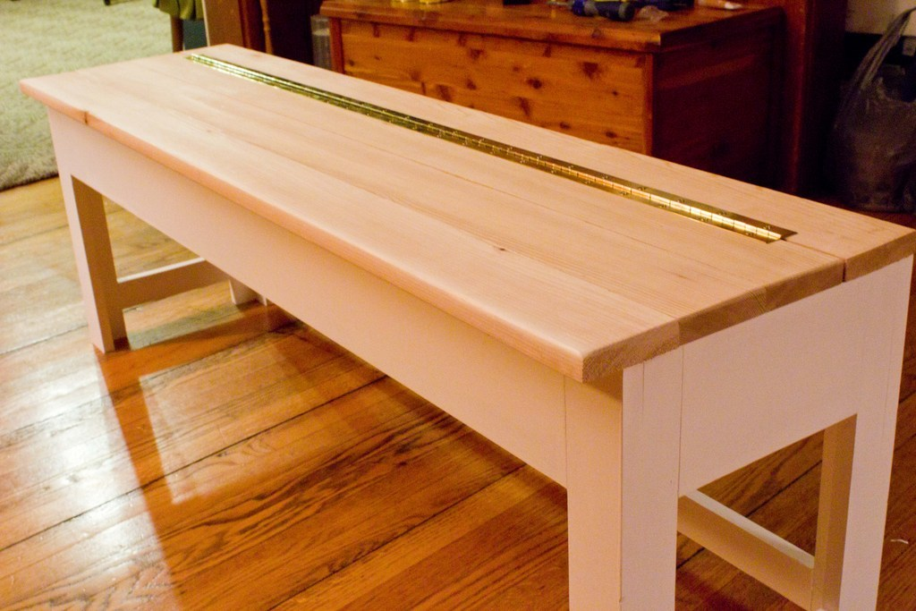 Ana White Storage Bench For The Mudroom Diy Projects