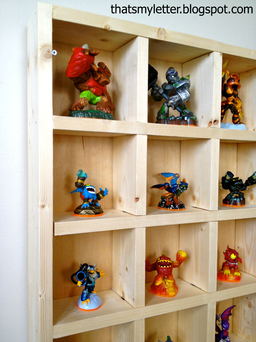 New Bookcase Toy Box White Finish Bedroom Playroom Child: Skylanders Cubby Storage Shelf - DIY Projects