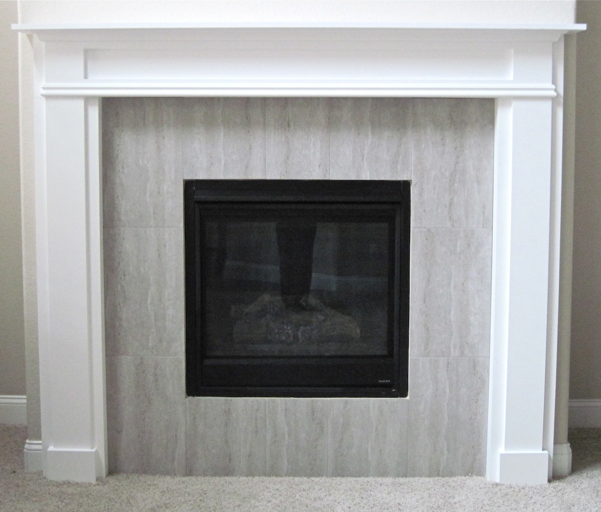 ana white fireplace mantel and surround diy projects