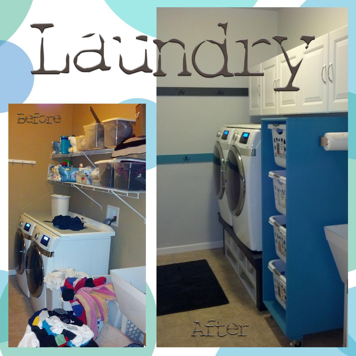 Laundry Room Redo | Ana White