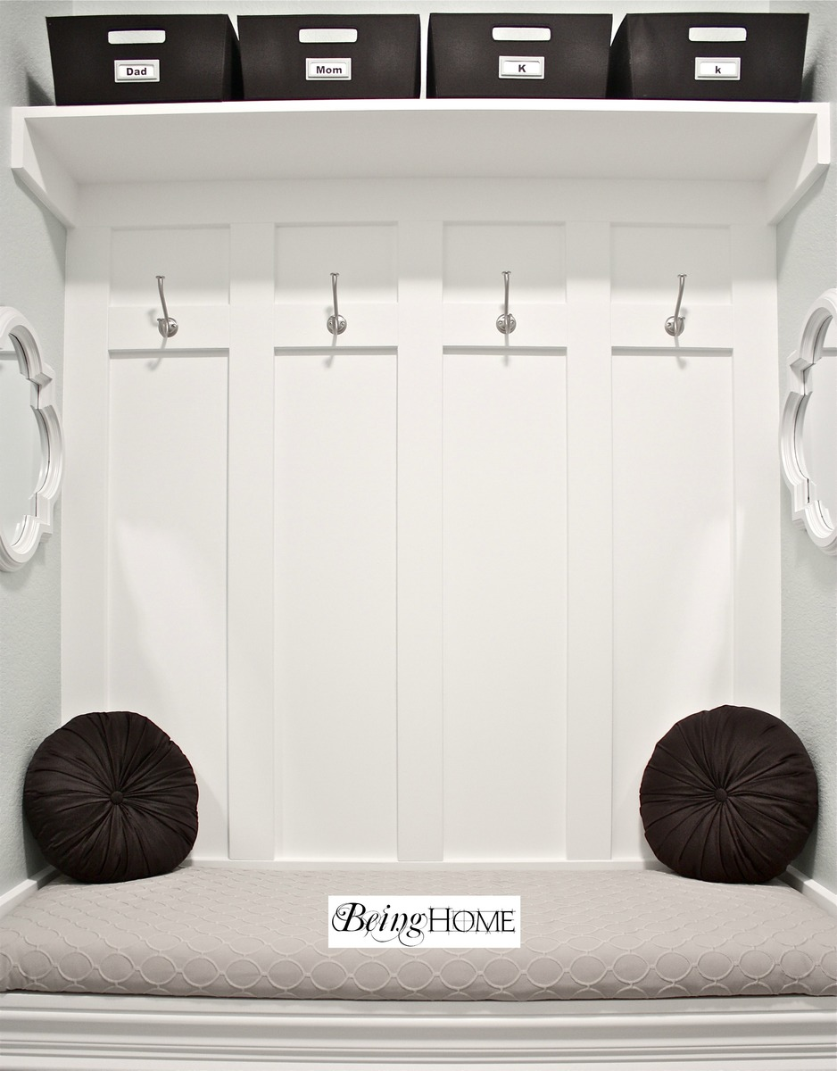 Ana White Mudroom Bench Project D I Y Pinterest
