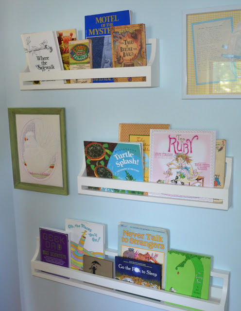 Ana White Flat Book Shelves Diy Projects