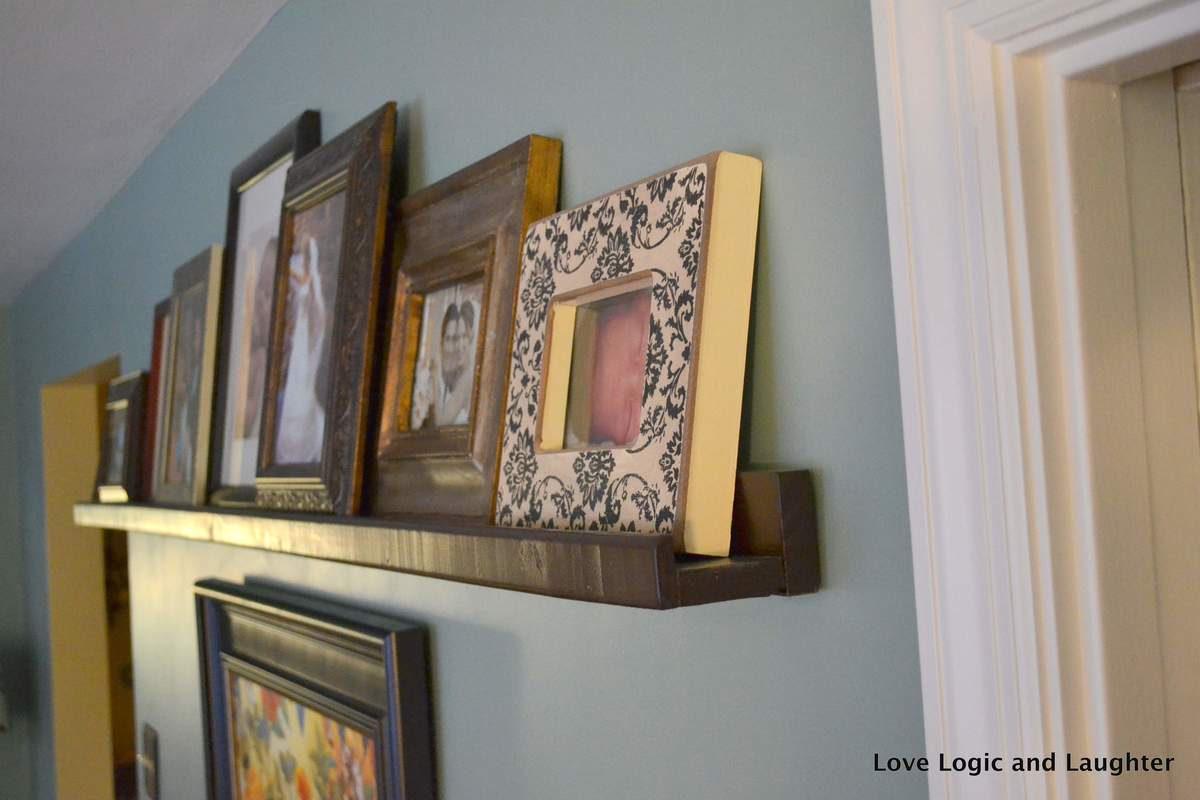 Ana White Ledge Shelf A One Nap Diy Diy Projects