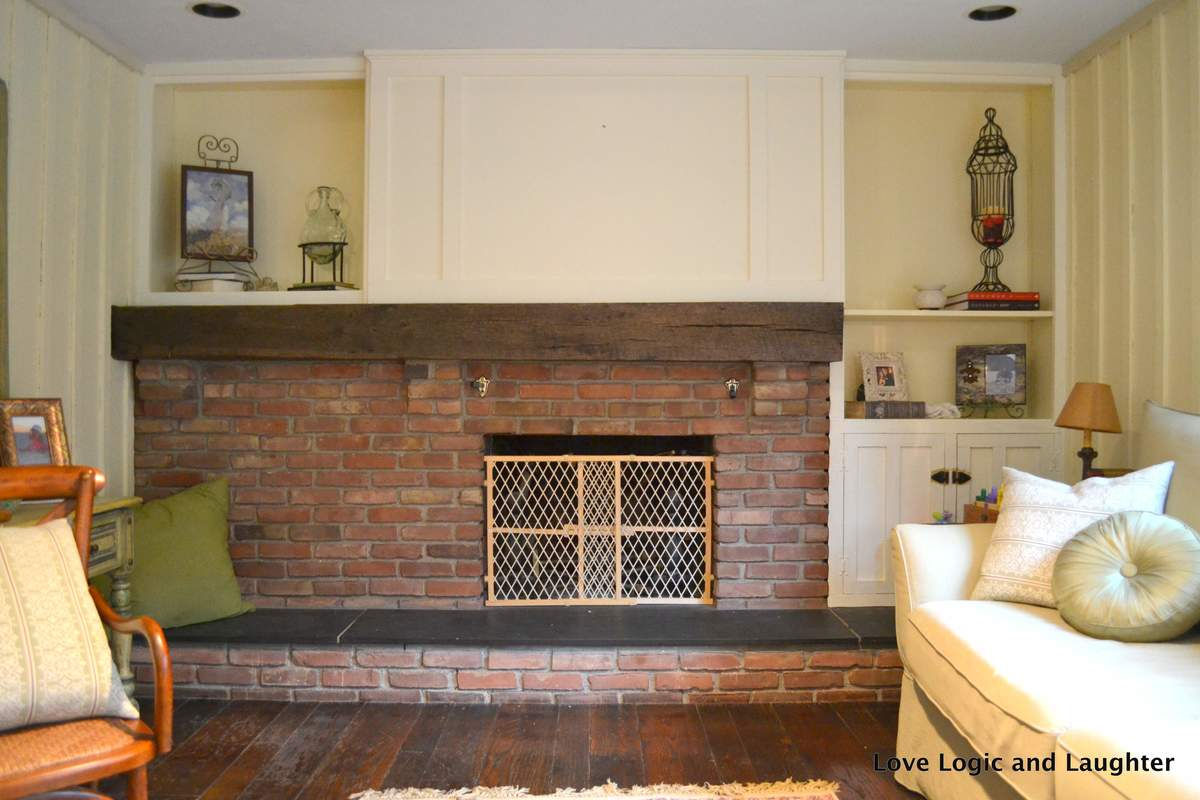 ana white board and batten fireplace surround diy projects